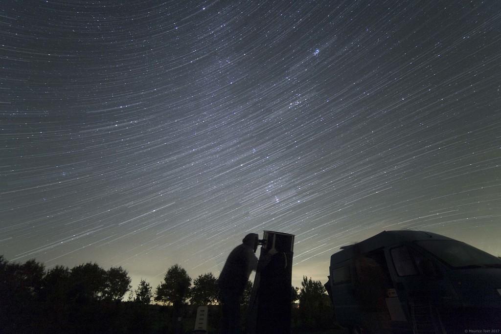 Hybrid Star Trails