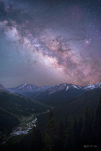 Independence Mountain Milky Way