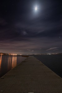 Jetty to the moon