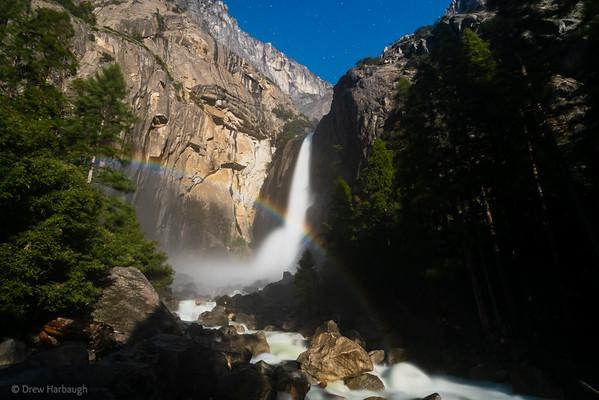 Yosemite Falls Moonbow No. 2
