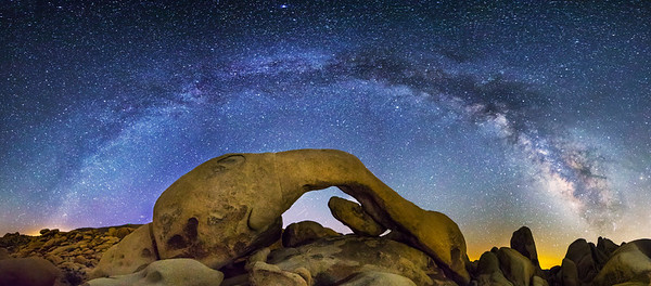 Intergalactic Arches