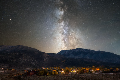 Fall Milky Way in the Eastern Sierras