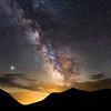 Milky Way over Mt Osceola