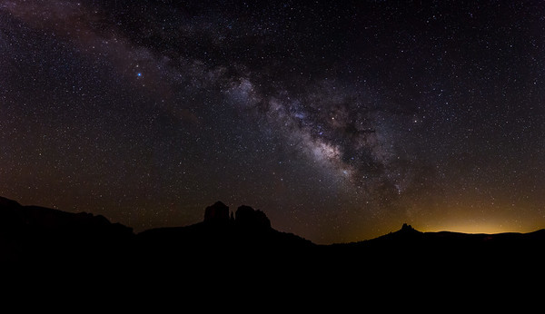 Cathedral Rock Milky Way