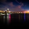 Night Descends on Boston