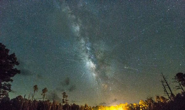 Perseids Meteor Shower at Stephen C Foster State Park
