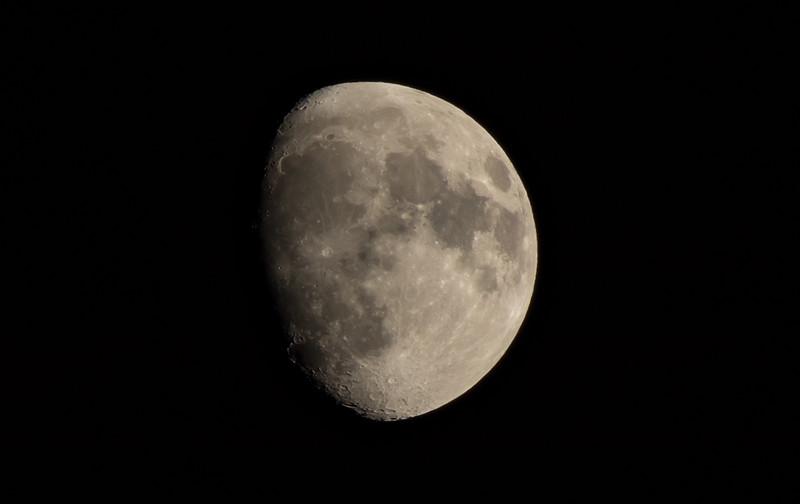 Nighttime Moon