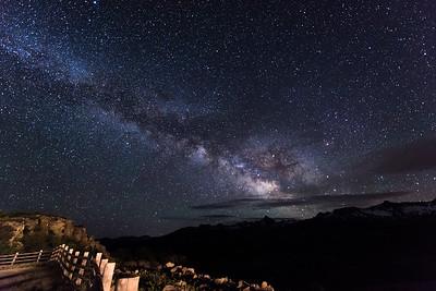 Milky Way over the San Juan's