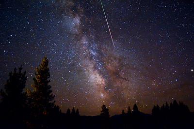 Perseid's Milkyway