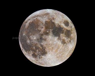 """Lunar Eclipse of Buck Moon"""" 2020"""