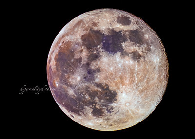 Colorful Moon 2019