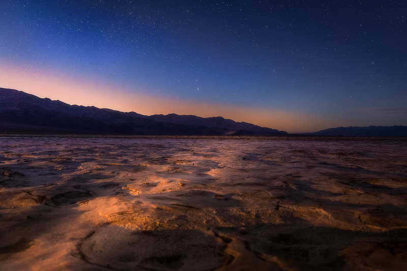 Playa Life at Death Valley National Park