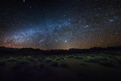 Stars over Sierras