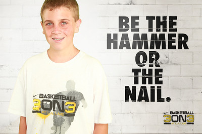 BE THE HAMMER OR THE NAIL