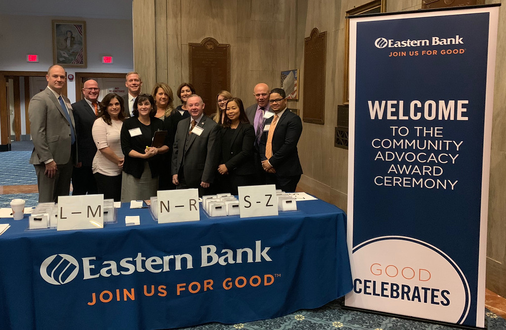 . The Eastern Bank team
