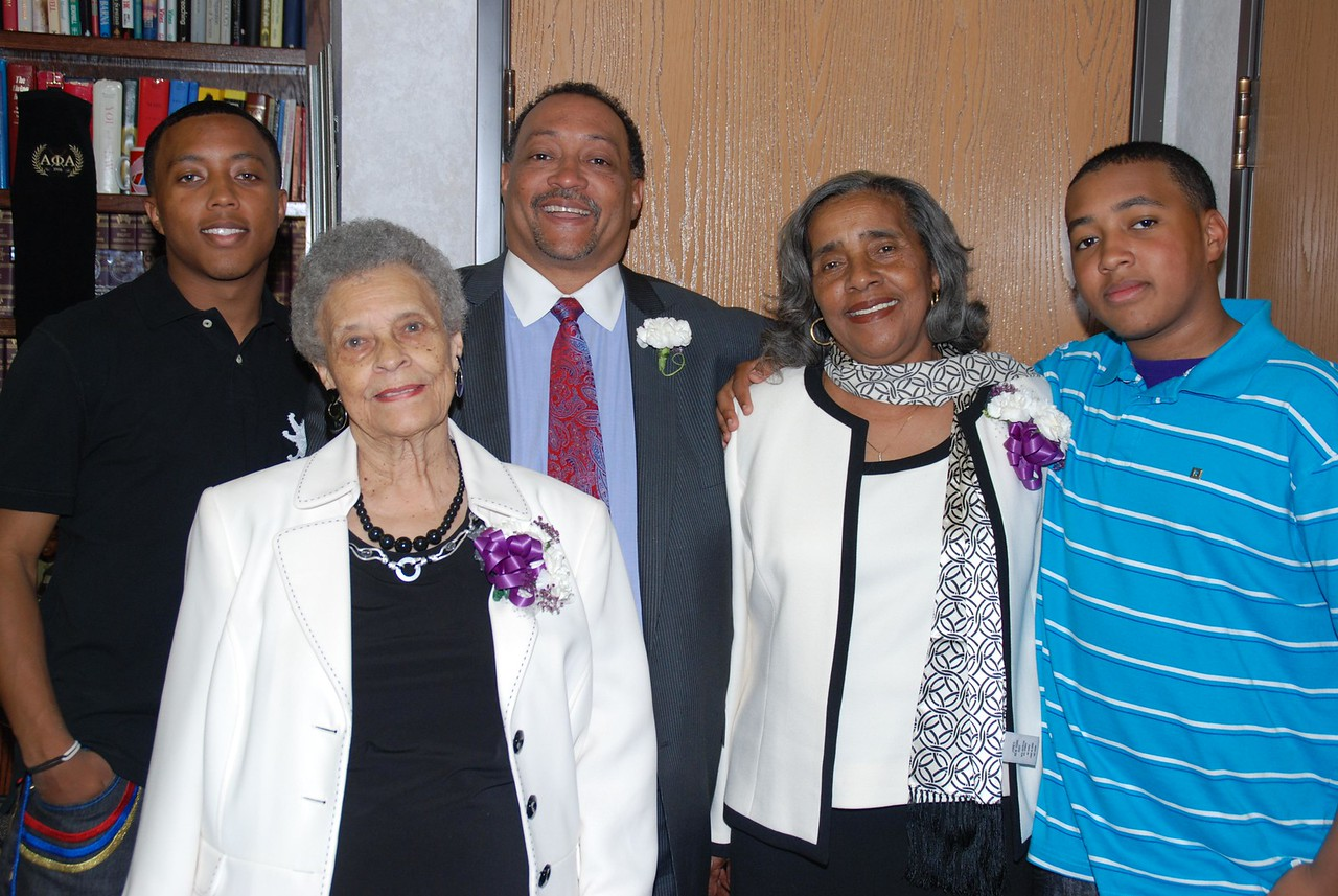 Pastor Cooper and Family
