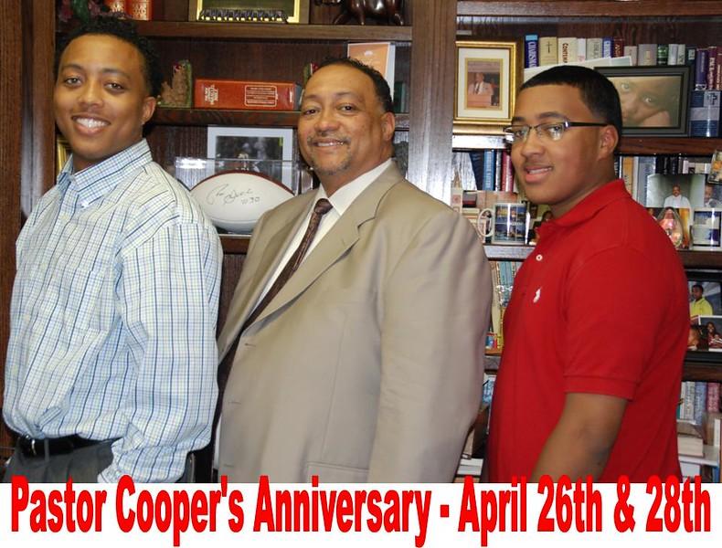 Pastor Cooper Anniversary 2013