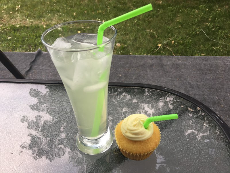 Callie's Lemonade Cupcakes with Lemonade