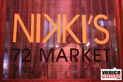 NIKKI'S 72 Market Street. Venice, CA 90291    |    310-450-3010    |  www.nikkivenice.com   |  www.myspace.com/nikkilocal72.  Photo by Venice Paparazzi.  www.venicepaparazzi.com