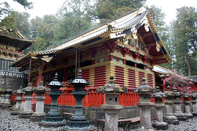 The Kamijinko at Toshogu shrine