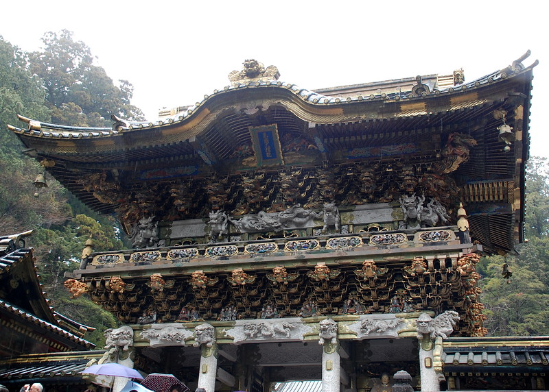 The Yomeimon Gate of Toshogu Shrine