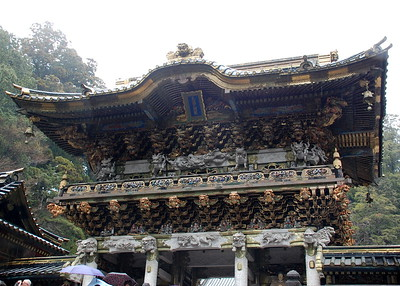 The Yomeimon Gate of Toshogu Shrine