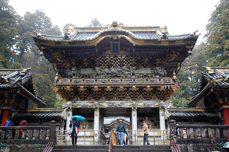 The Yomeimon Gate of Tosho-gu Shrine