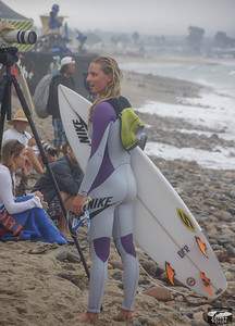Pretty Pro Surf Girl @ Hurley Pro in Trestles
