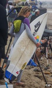 Pretty Pro Surf Girl @ Hurley Pro in Trestles