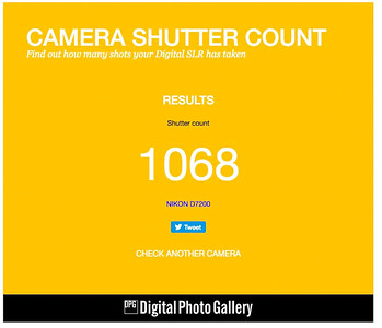 Nikon D7200 serial ending 997