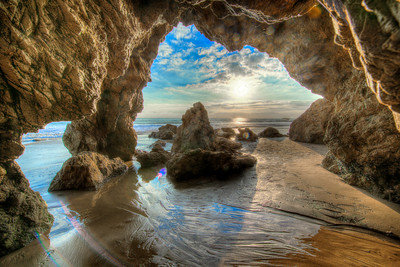 Nikon D800 E HDR Malibu Landscape Photography with 14-24 mm Wide Angle 2.8 Lens
