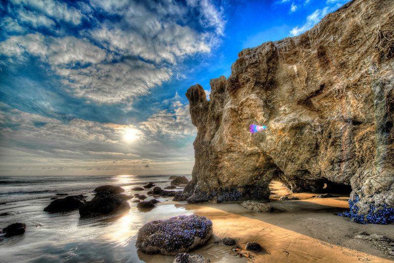 Nikon D800 E HDR Malibu Landscape Photography with 14-24 mm Wide Angle 2.8 Lens