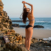 Nikon D800 E Photos of Swimsuit Bikini Model @ Sunset!