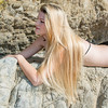Nikon D800 E Photoshoot of Beautiful Blonde Swimsuit Bikini Model Goddess