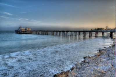 Malibu Pier! Nikon D800 HDR Malibu Landscapes Finished in Photomatix