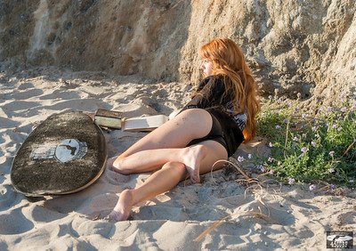 Nikon D800 Photos Beautiful Redhead Bikini Swimsuit Model Goddess!