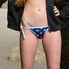 Nikon D800 Photos Beautiful Redhead Bikini Swimsuit Model Goddess in Malibu Sea Cave!