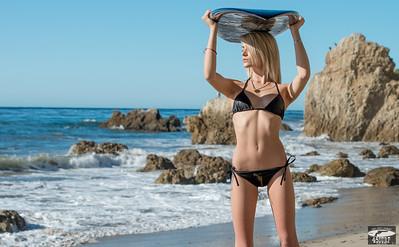 Nikon D800 Photos of Tall Blonde Swimsuit Bikini Model Goddess (70-200mm VR2 Nikkor Lens)