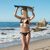 Nikon D800 Photos of Tall Blonde Swimsuit Bikini Model Goddess (70-200mm VR2 Nikkor Lens)
