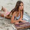Nikon D800 Photos of Brunette Swimsuit Bikini Goddess with Pretty Green Eyes! 70-200mm VRII Nikkor Zoom