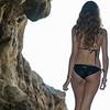 Nikon D800 Photoshoot of Bikini Swimsuit Model in Malibu Sea Cave