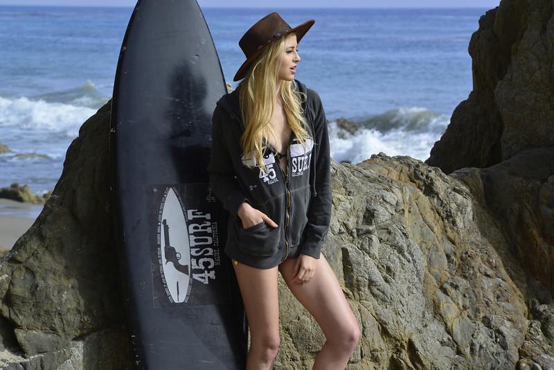 Nikon D800 Photography of a Beautiful Blonde Swimsuit Bikini Model
