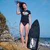 Nikon D800 Photoshoot of Bikini Swimsuit Fitness Model in Malibu