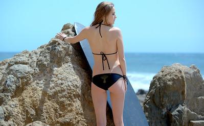 Nikon D800 Photos of Pretty Sandy-Blonde Bikini Swimsuit Model Goddess