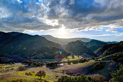 Nikon D800E HDR Malibu Landscape Photography with 14-24 mm Wide Angle f/2.8 Lens