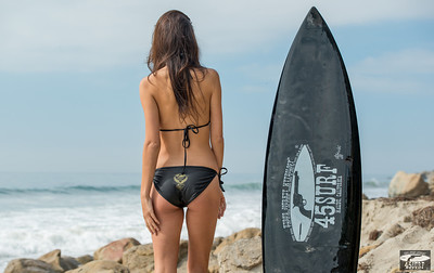 Nikon D800E Photos of Beautiful Swimsuit Brunette Bikini Fitness Model Goddess