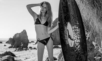 Nikon D800E Photos of Blonde Swimsuit Bikini Model Goddess with Pretty Blue Eyes!
