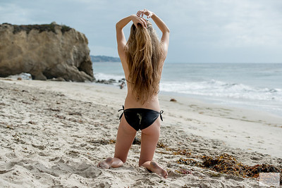 Nikon D800E Photos of Green Eyed Goddess with Long, Sandy-Blonde Hair