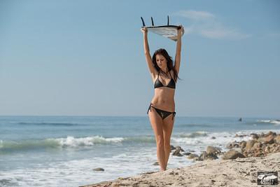 Nikon D800 E Photos of Beautiful Swimsuit Brunette Bikini Model Goddess