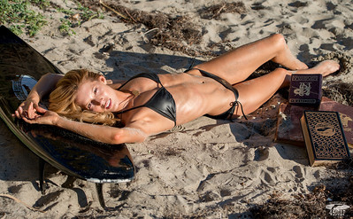 Tall, Blonde, Swimsuit Bikini Model Goddess! Nikon D800 Photos!